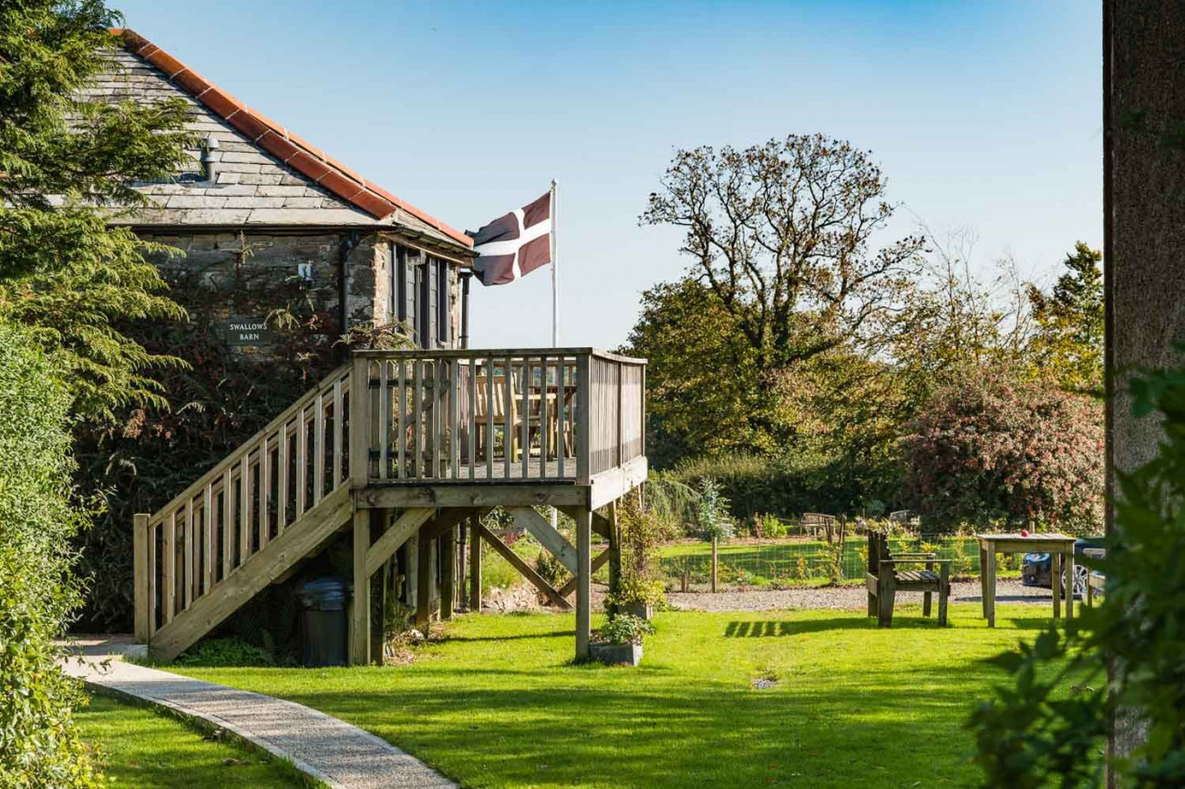 Click here for more about Swallows Barn at Trevadlock Manor