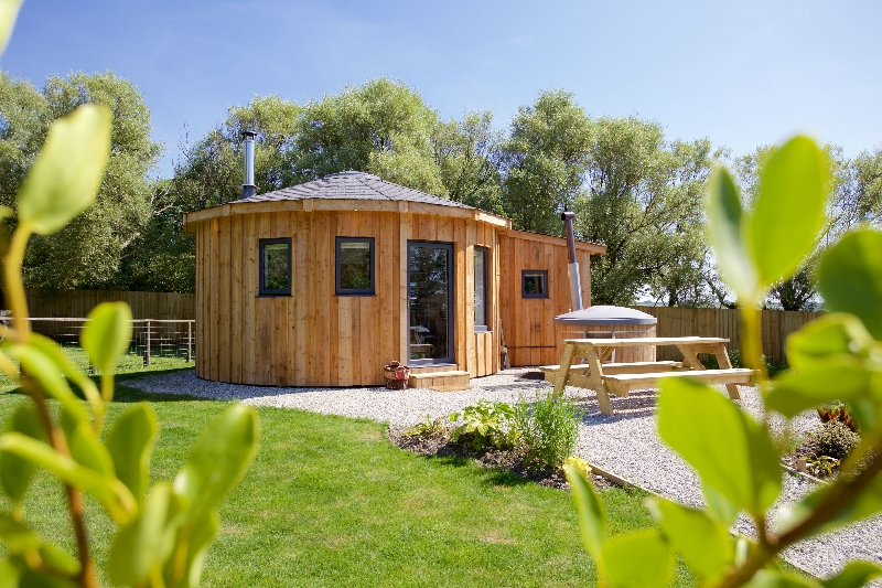 Click here for more about Fern Leaf Roundhouse - East Thorne