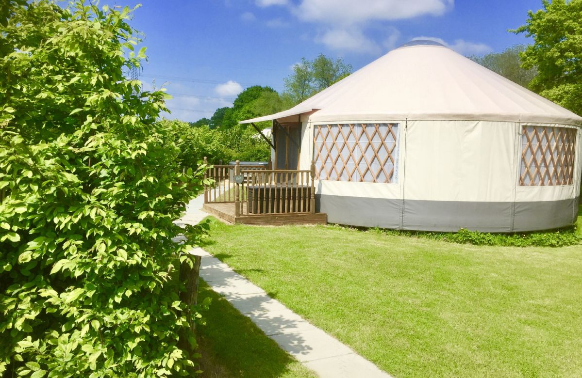 Click here for more about Oak Yurt