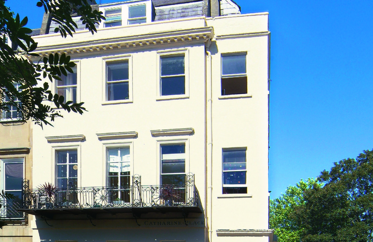 Catharine Place is located in Bath