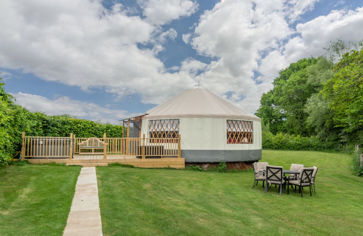 Click here for more about Willow Yurt