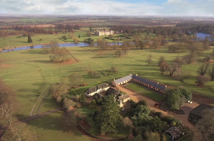 The Dairy at Burghley is located in Stamford