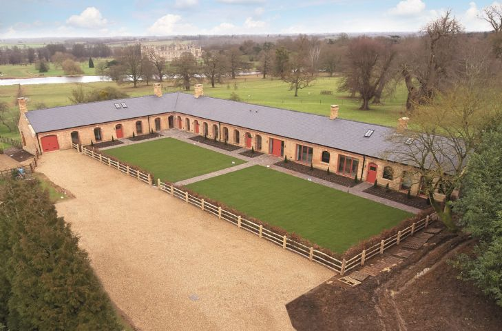 The Dairy at Burghley sleeps 20